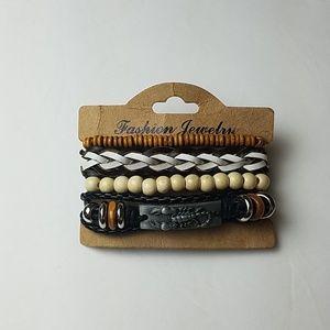 Jewelry - Boho Beaded Bracelet stack - adjustable